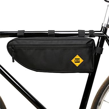 billige Sykkelvesker-B-SOUL 1.5 L Vesker til sykkelramme Vanntett Bærbar Anvendelig Sykkelveske polyester Sykkelveske Sykkelveske Sykling Utendørs Trening Sykkel