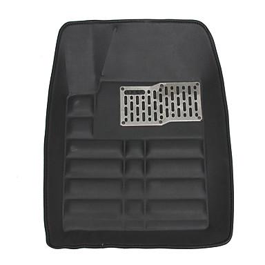voordelige Auto-interieur accessoires-universele auto mat auto vloermat voor en achter voering waterdicht bij alle weersomstandigheden