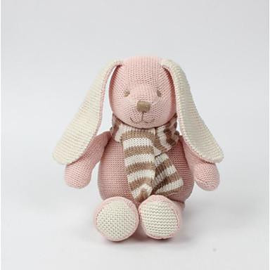 voordelige Knuffels & Pluche dieren-SOFT LIFE Rabbit Knuffels & Pluche dieren Dieren Schattig Ganzenveer Allemaal Speeltjes Geschenk 1 pcs