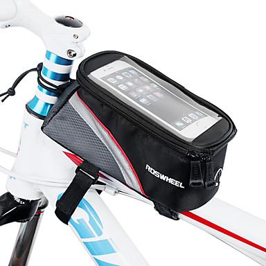 Roswheel Bag Cell Phone Marsupio Triangolare Da Telaio Bici 4.8 Pollice Schermo Touch Ciclismo Per Iphone 8-7-6s-6 Iphone X Iphone Xr Rosso Verde Blu Ciclismo - Bicicletta - Iphone Xs - Iphone Xs Max #05021661 Sconto Del 50