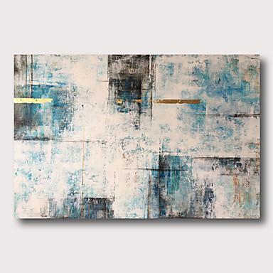 Hang-Painted öljymaalaus Maalattu - Abstrakti Comtemporary Moderni Sisällytä Inner Frame / Venytetty kangas