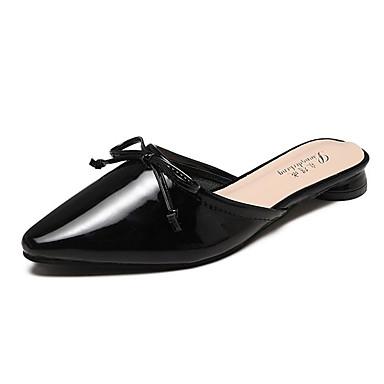 4b76d245eb6 Women's Clogs & Mules Flat Heel Pointed Toe Bowknot PU(Polyurethane ...