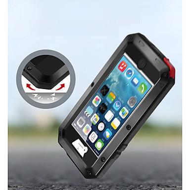hesapli iPhone Kılıfları-Pouzdro Uyumluluk Apple iPhone XS / iPhone XR / iPhone XS Max Şoka Dayanıklı / Toz Geçirmez / Su Resisdansı Tam Kaplama Kılıf Zırh Yumuşak Metal