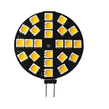 billige Elpærer-1pc 3.5 W LED-lamper med G-sokkel 200 lm G4 24 LED perler SMD 5050 10-30 V