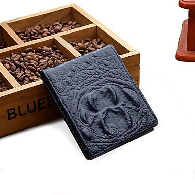 24999d20fc59 Unisex Bags Cowhide Wallet Embossed Crocodile Yellow / Almond / Brown