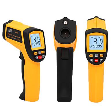 Gm500 Portatile - Multi-funzione Termometri A Infrarossi -50-550℃ Per La Scuola O L'ufficio, Salvataggio Dati, Laser On - Off Selezionabile #07223351