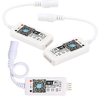 kwb 3pcs חכם wifi מבוקר פאנל מפושט מוארת lampsrgb צבע שינוי שליטה מרחוק אלחוטית מכל מקום עם מצב timermusic תואם אמזון אלקסה