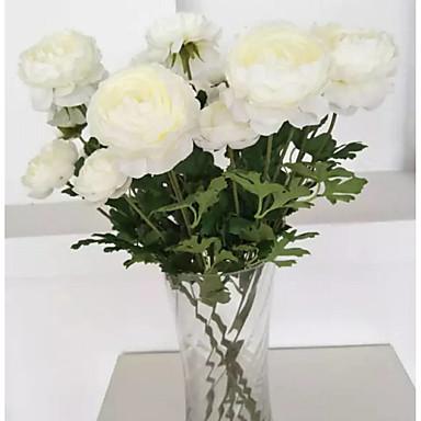 Keinotekoinen Flowers 5 haara Klassinen Perinteinen Pastoraali Tyyli Camellia