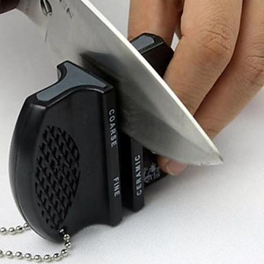 ABS Knife Sharpener Easy to Carry Creative Kitchen Gadget Kitchen Utensils Tools Kitchen 1pc