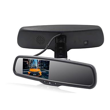 voordelige Automatisch Electronica-4.3 inch(es) Lcd-Digitaal Scherm Bekabeld Achteruitkijkspiegel / Auto-achteruitrijmonitor Plug & play / LCD-scherm / Aanpassing van de helderheid voor Automatisch / Bus / Truck