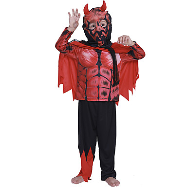 Angel / Devil Cosplay Costume Kid's Boys' Outfits Halloween