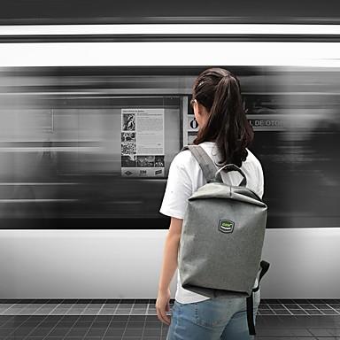 Gox Carry Bag 20 L - Cerniera Ykk Esterno Viaggi Poliestere Oxford Nero Rosso Grigio #07190865
