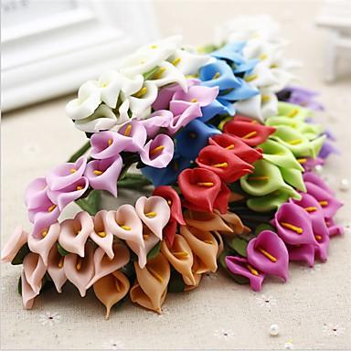 Fleurs artificielles 12 Une succursale Classique Mariage Calla Lily