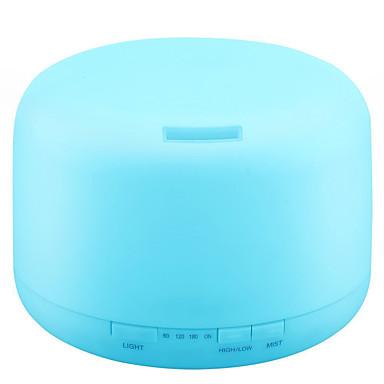 رخيصةأون أجهزة منزلية ذكية-آلة الروائح Upgraded 500ML Essential Oil Diffuser Humidifiers Ultrasonic Aromatherapy Diffusers with 4 Timer Settings 14 Color Changing and Waterless Auto Shut-Off for Home Office Living Room Yoga Spa