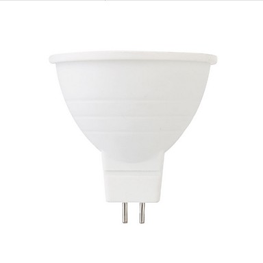 1kpl 6 W LED-kohdevalaisimet 500 lm GU10 MR16 6 LED-helmet SMD 5050 Koristeltu Lämmin valkoinen Kylmä valkoinen 220-240 V
