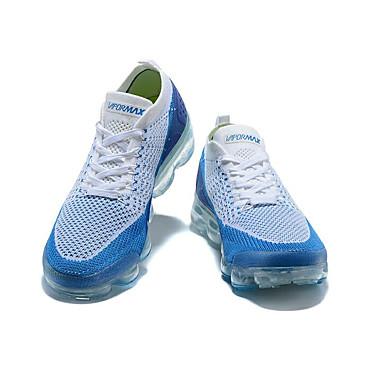 baratos Fashion Athletic Shoes-Homens Sapatos Confortáveis Tecido elástico Primavera & Outono / Primavera / Verão Esportivo / Casual Tênis Corrida / Fitness / Caminhada Respirável Preto / Branco / azul / Preto / Amarelo / Atlético