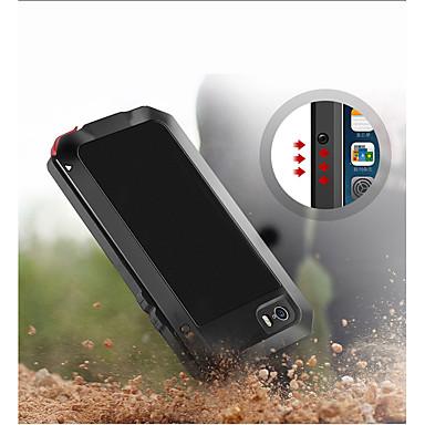 billige iPhone-etuier-Etui Til Apple iPhone XS / iPhone XR / iPhone XS Max Stødsikker / Støvsikker / Vandafvisende Fuldt etui Rustning Blødt Metal