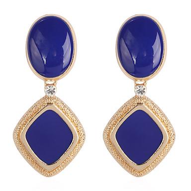 Γυναικεία Κρίκοι Σκουλαρίκια Κοσμήματα Μαύρο / Κόκκινο / Μπλε Για Καθημερινά 1 Pair