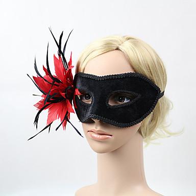 abordables Coiffes-Mousse Les masques avec Fleur 1 Pièce Usage quotidien Casque