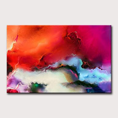 Hang-Painted öljymaalaus Maalattu - Abstrakti Holiday Klassinen Moderni Ilman Inner Frame