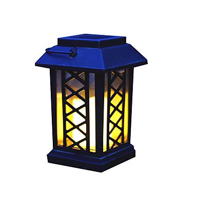 1kpl 0.2 W Aurinkopaneeli LED-valot / Led Street Light Aurinkokenno Keltainen 1.2 V Ulkovalaistus / Uima-allas / Piha LED-helmet