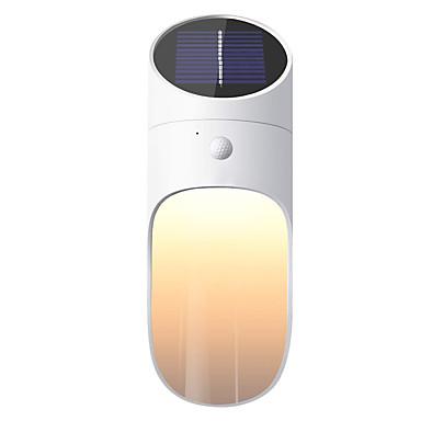 1kpl 0.5 W Aurinkosuojalaite Aurinkokenno / Uusi malli / Koristeltu Lämmin valkoinen 3.7 V 1 LED-helmet