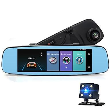 billige Bil-DVR-Factory OEM A880 480p / 720p / 1080p Nattsyn / Trådløs Bil DVR Bred vinkel CMOS-sensor IPS Dash Cam med WIFI / GPS / Night Vision Bilopptaker