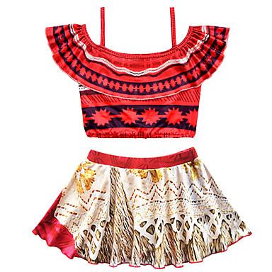 c63d2eb042c2 cheap Girls' Clothing-Kids Toddler Girls' Vintage Boho Print