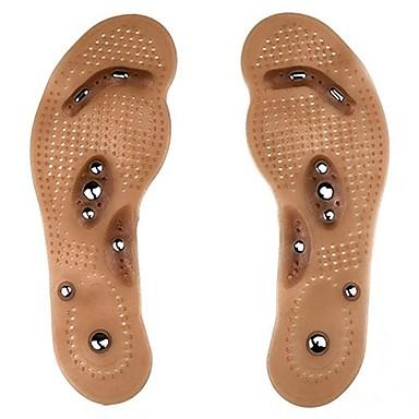 baratos Palmilhas-1 par Improving Sleep / Alivia Estresse Palmilhas e Calcanhadeiras silica Gel Todos os Sapatos Todas as Estações Unisexo Marron