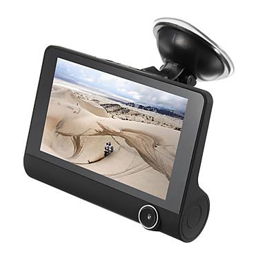 1080p HD Auto DVR 170 astetta Laajakulma 4 inch IPS Dash Cam kanssa GPS / Pimeänäkö / G-Sensor Automaattinen tallennin