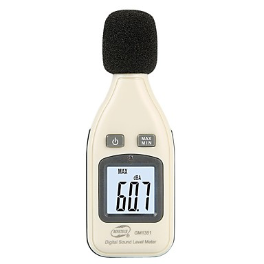 voordelige Test-, meet- & inspectieapparatuur-benetech digitale geluidsniveaumeter noise audio decibelimetro 30-130dba noisemete decibels noise decibel monitor tester gm1351