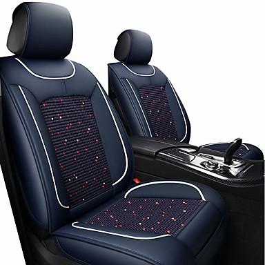 voordelige Auto-interieur accessoires-autostoel kussens stoelhoezen wijn / zwart / bruin polyesterweefsel / leer algemeen / bedrijf voor universeel alle jaren