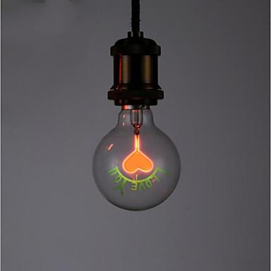 1kpl 2 W LED-pallolamput 100-160 lm E26 / E27 G80 1 LED-helmet 220-240 V