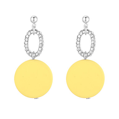 2019 Korea Women Earrings Pearl Pendant Crystal Earrings Color C-type Half Circle Circle Party Ball Japan Beach Holiday Gift Excellent In Quality