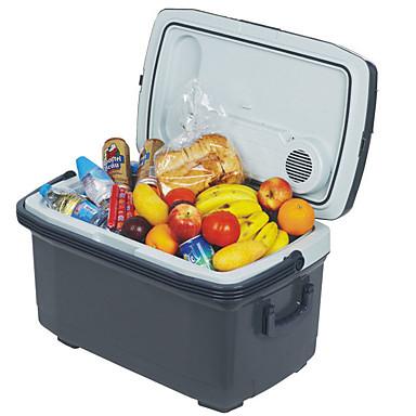 voordelige Automatisch Electronica-annen 45l auto koelkast laag energieverbruik / geluidsarme koeler en warmer voor rijden, reizen, buiten- en thuisgebruik 12 / 220v