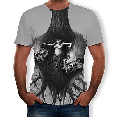Cosplay Cosplay T-paita Teryleeni 3D Käyttötarkoitus Miesten / Naisten