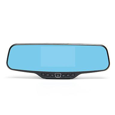 billige Bil-DVR-HD / Nattsyn Bil DVR 170 grader Bred vinkel 4.3 tommers LCD Dash Cam med Night Vision / G-Sensor / Bevegelsessensor Bilopptaker