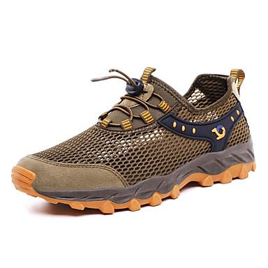 Unisex Ayakkabı Örümcek Ağı İlkbahar yaz Sportif / Günlük Atletik Ayakkabılar Koşu Günlük / Dış mekan için Siyah / Gri / Kahverengi