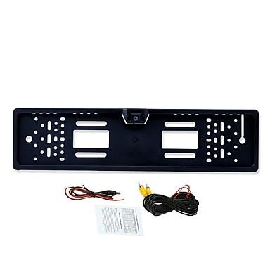 billige Bil Elektronikk-BYNCG rear view camera 480TVL 480 TV-Lines 1/4 tommers CMOS OV7950 Med ledning 90 grader 3.5-12 tommers Bakside Kamera LED-indikator til Bil