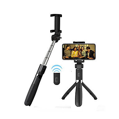 povoljno Foto i video oprema-APEXEL Štap za selfie Bluetooth Može se proširiti Maksimalna dužina 70 cm Za Univerzális Android / iOS Univerzális