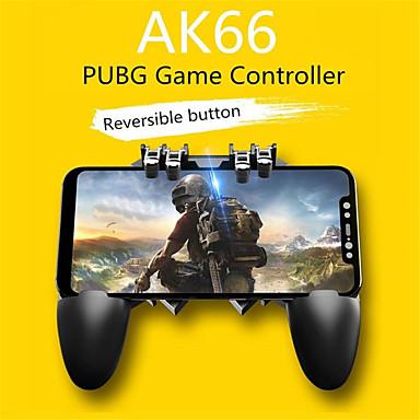 voordelige Smartphone gaming-accessoires-gamepads ak66 zes vinger alles-in-een mobiele telefoon spel controller gratis vuurknop joystick gamepad l1 r1 trigger voor pubg