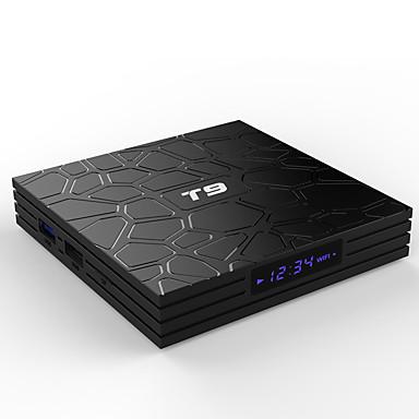 PULIERDETV BOX T9 Android 8.1 RK3328 4GB 32GB Négymagos
