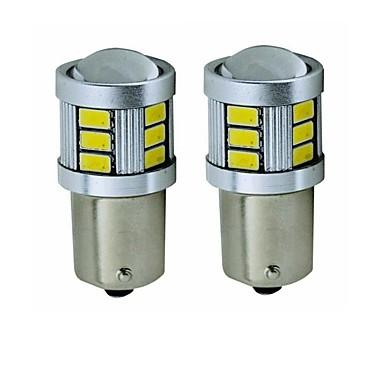 preiswerte Bremslichter-SENCART 2pcs BA15S (1156) / BAY15D(1160) Motorrad / Auto Leuchtbirnen 5 W SMD 5630 450 lm 18 LED Blinkleuchte / Rücklicht / Bremslichter Für Universal