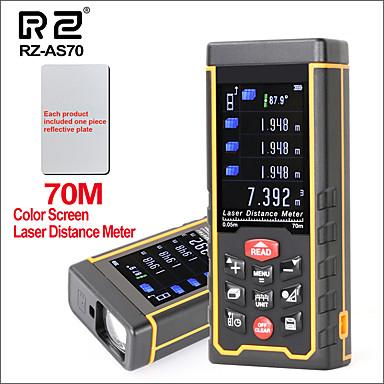 voordelige Test-, meet- & inspectieapparatuur-rz laser afstandsmeter afstandsmeter afstandsmeter jacht digitale handheld afstandsmeter 70m meetlint laser afstandsmeter als 70