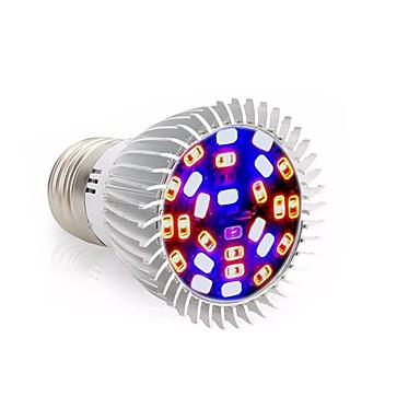 abordables Ampoules électriques-1pc 28 W Ampoule en croissance 800 lm E26 / E27 28 Perles LED SMD 5730 Décorative Multicolores 85-265 V