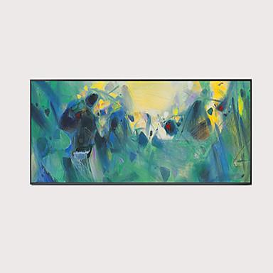 billige Trykk-Trykk Valset lerretskunst - Abstrakt Moderne Kunsttrykk