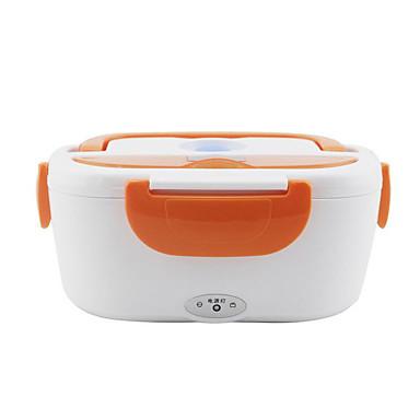 voordelige Automatisch Electronica-1.5l auto elektrische lunchbox onderpan verwarming geluidsarme voedsel warmer container voor thuis kantoor school reizen gebruik 12 v