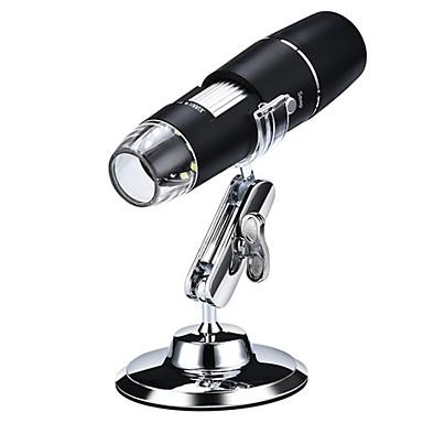 voordelige Test-, meet- & inspectieapparatuur-draagbare wifi draadloze industriële elektrische microscoop 1000x high-definition digitale loep