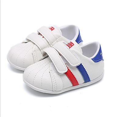 baratos Sapatos de Criança-Para Meninos Sintéticos Tênis Crianças (0-9m) Conforto Verde / Azul / Rosa claro Verão