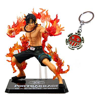 halpa Anime-figuurit-Anime Toimintahahmot Innoittamana One Piece Ässä PVC 13 cm CM Malli lelut Doll Toy